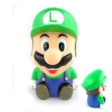 """Super Mario LUIGI 4.8""""Coin Piggy Money Bank Figure"""
