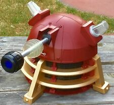BBC DR DOCTOR WHO RED DALEK SUPREME LEADER COSTUME HELMET VOICE CHANGER MASK EXC