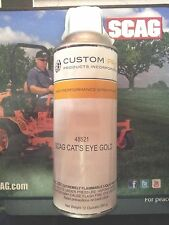 Scag Cat's Eye Gold 48521 (Orange) Mower Spray Paint LOT of (2)TWO Cans OEM Scag