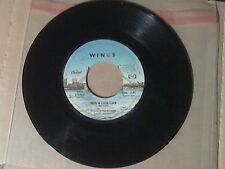 45RPM Record. Wings(Paul McCartney) 1978 Capitol Records 4559.