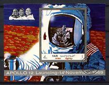 Yemen 1970 Apollo 12 Espacio Cto utilizado Imperf m/s #a 61128