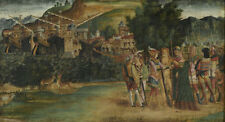 """perfact oil painting handpainted on canvas""""The Marriage of a man and woman""""N5220"""