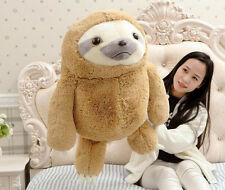 "Fashion 16"" Animal Plush Cute Toy Sloth Plush Doll Birthday Present Pillow New"