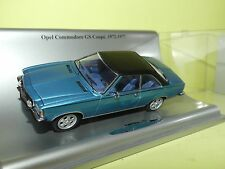 OPEL COMMODORE GS Coupe Bleu 1972-1977  SCHUCO 1:43