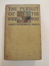 COLLECTABLE 1898 THE PURSUIT OF THE HOUSEBOAT (SHERLOCK HOLMES) JOHN K BANGS