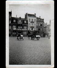 BRUXELLES (BELGIQUE) Photo Amateur VELO Tricycle & ATTELAGE du LAITIER en 1939