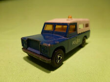 EFSI HOLLAND LAND ROVER POLICE CAR 1/63 - GOOD CONDITION -