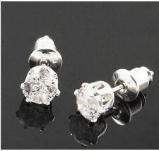 classic small diamond stud style crystal stud earrings