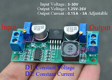 DC 5-30V To 1.25-26V Adjustable CCCV LED Driver Regulated Power Supply Module