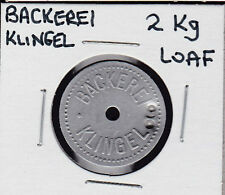 Vintage German Backerei Klingel Bread/Bakery Token