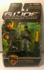 "Hasbro G.I. Joe The Rise of Cobra Movie 3 3/4"" inch Action Figure ""Shipwreck"""