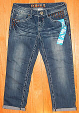 HYDRAULIC BAILEY STUDDED CROPPED CAPRI JEANS sz 0 NEW AUTHENTIC