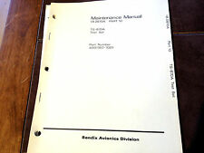 Bendix FCS-870 Test-Set TS-870A Maintenance Manual