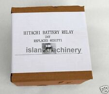 HITACHI  EXCAVATOR BATTERY RELAY 24V  REPLACES 4031771
