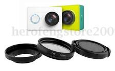 37mm UV Filter Lens +Lens Cap Cover Case For Xiaomi Yi Action Sports Camera