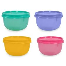 Tupperware Tropical Cup / Bowl - Tiffin lunch box storage container (2 Pieces)