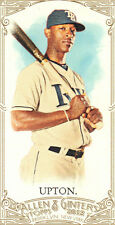 "2012  ""ALLEN & GINTER""  MINI'S  A&G BACKS  #251  B.J. UPTON"