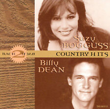 SUZY BOGGUS & BILLY DEAN: BACK TO BACK COUNTRY HITS (CD) 2003 COMPILATION