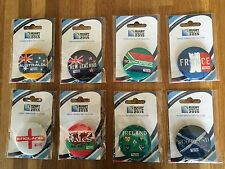 Rugby World Cup 2015 Country Button Badges - Full set of 8 available