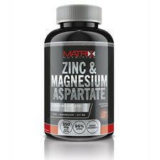 MATRIX NUTRITION ZINC MAGNESIUM ASPARTATE 240 TABLETS TEST TESTOSTERONE BOOSTER