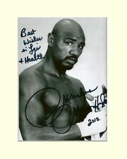 MARVIN HAGLER BOXING LEGEND PP MOUNTED 8X10 SIGNED AUTOGRAPH PHOTO