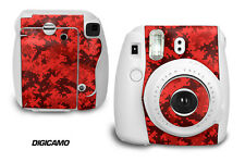 Custom Skin Sticker Wrap Decal For Fujifilm Instax Mini 8 Instant Camera DIGICAM