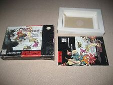 Chrono Trigger (Super Nintendo SNES 1995) Original Box & Manual !