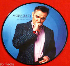 """MORRISSEY -I Just Want to See The Boy Happy- UK 7"""" Picture Disc (The Smiths)"""