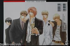 JAPAN Shiuko Kano Art & Manga Book: Wild Card