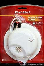 (6 - pack) First Alert SA303CN Smoke and Fire Alarm (9-v included)