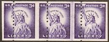 USA US Coil MISPERF Error Joint line Stamps Sc# 1057 Statue of Liberty MINT MNH