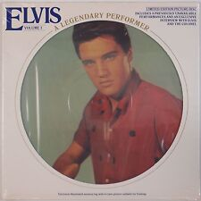 ELVIS PRESLEY: A Legendary Performer SEALED Vol 3 Picture Disc 70s ORIG Vinyl LP