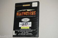 DVD: Relentless - The Struggle for Peace in the Middle East, . Ex library Cond.: