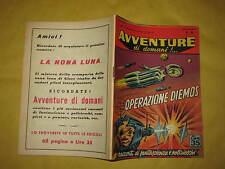 AVVENTURE DI DOMANI  EDIZIONI MONDIALI  NUMERO 16 DEL 20 AGOSTO 1957