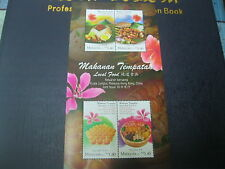 SOUVENIR SHEET MALAYSIA 2014 - MALAYSIA - HONG KONG LOCAL FOOD JOINT ISSUE