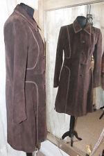 M&S Per Una brown suede jacket - Size 10 - Ditsy Vintage - RRP £200