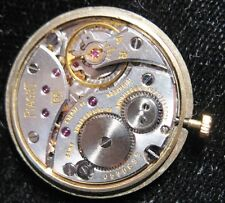 Piaget Caliber 9P Wrist Watch Movement 18 Jewels Complete & Running