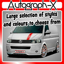 VW T4 T5 Transporter Camper Van Bonnet Stripe Sticker Graphic Decal