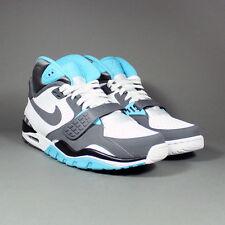 20494 Nike Air Trainer SC II White/Dark Grey-Chlorine Blue 443575 100 2011 11