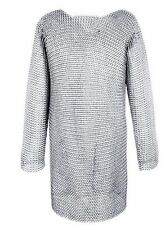 HALLOWEEN GIFTS Aluminium Chainmail Shirt Butted Chain MaiL XL SIZE HUBERK