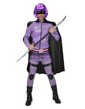 "Kick Ass Womens Hit Girl Superhero Costume, Medium, BUST 39"", WAIST 32"""