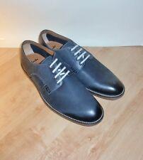 BNIB Clarks mens FARLI WALK midnigh blue nubuck shoes size 9.5 EU 44