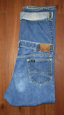 Lee Riders Sanforized Selvage Mens Jeans Tag 34 Union USA Gripper Vintage 33x29