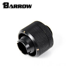 "Barrow G1/4"" Matte Black 1/2 ID x 3/4 OD Compression Fitting -69"