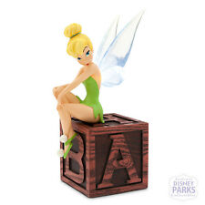 Disney Parks Tinker Bell Light-Up Wings Figurine Figure on Block Tinkerbell