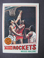1977-78 Topps Basketball Card #124 - MOSES MALONE Houston Rockets - NM