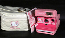 Rare Sanrio Hello Kitty  Polaroid Camera w/original case  from japan