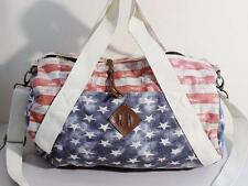 Madden Girl Girls / Women's U.S Flag Duffle Bag Red/White/Blue NWOT