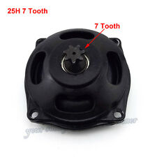 25H 7T Clutch Drum Gear Box Minimoto ATV 47 49cc Engine Pocket Bike Go Kart