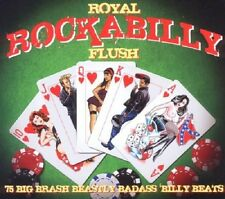 Royal Rockabilly Flush 3-CD NEW SEALED Elvis Presley/Glen Glenn/Charlie Feathers